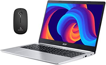 2020 Acer Aspire 5 15.6 Inch FHD 1080P Slim Laptop| Intel Core i3-10110U (Beats i5-7200U)| 4GB RAM| 128GB SSD| Backlit KB| WiFi| Bluetooth| Windows 10 S + NexiGo Wireless Mouse Bundle