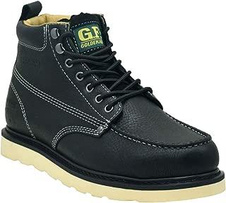 Steel Toe Work Boots Men's 6