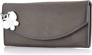 Butterflies Women's Wallet (Dark Brown) (BNS 2320DBN)