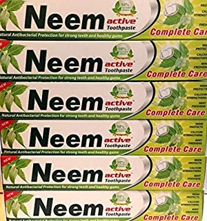 Neem Active Toothpaste 125 Gm (Pack of 6)