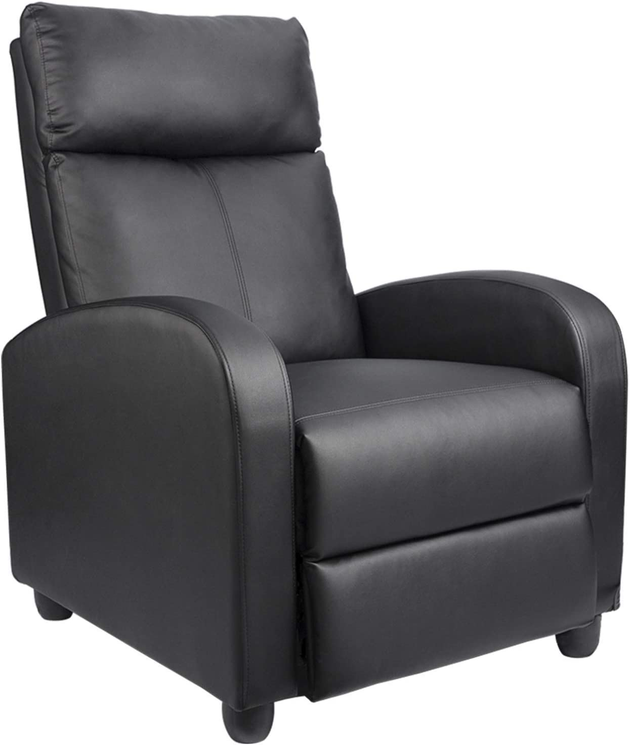 Best Affordable Leather Sofa Recliner: Homall Pu Leather Recliner For Living Room.
