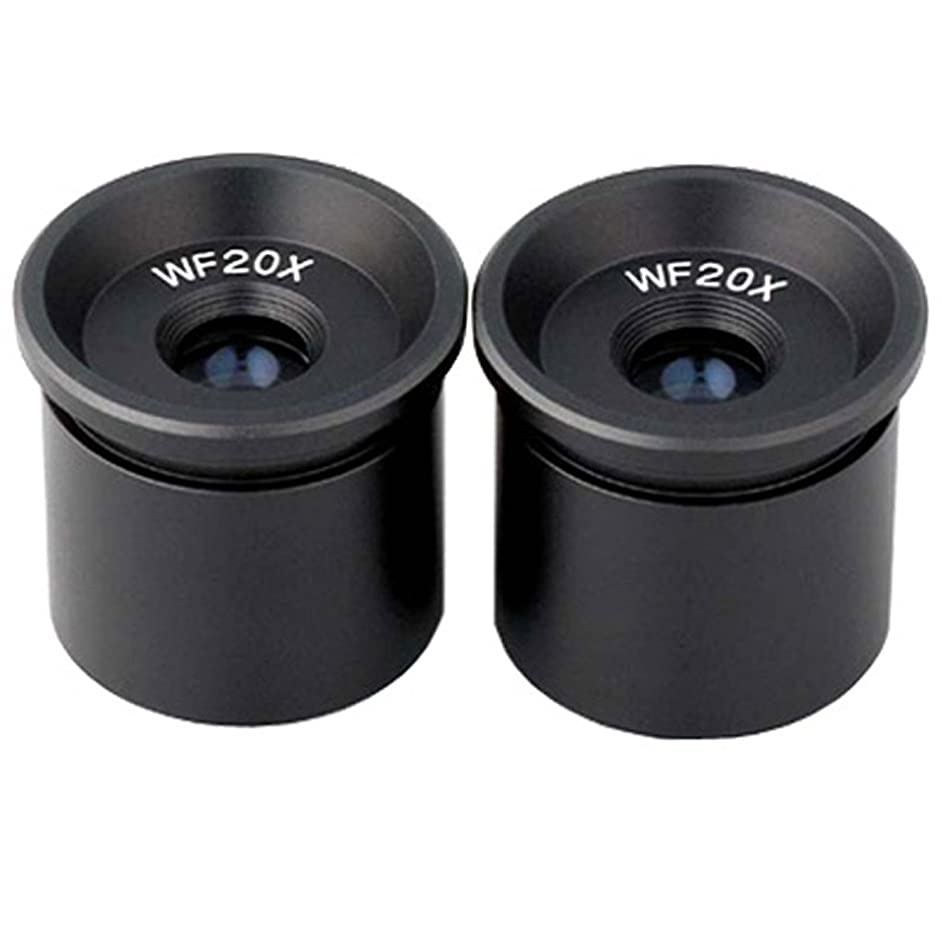 AmScope EP20X305 Pair of WF20X Microscope Eyepieces (30.5mm)