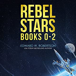 Rebel Stars: Books 0-2 audiobook cover art