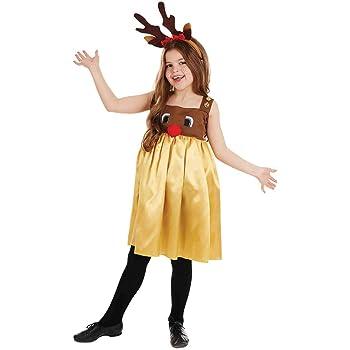 Disfraz de reno de lote - para niña - niña - tutú - diadema ...