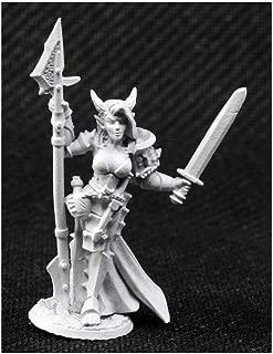 Reaper Skara Female Skoli Warrior Miniature 25mm Heroic Scale Dark Heaven Legends Miniatures
