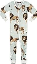 MilkBarn Bamboo Zipper Pajama - Lion