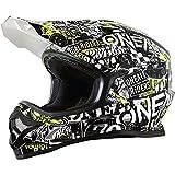 0623-093 - Oneal 3 Series Attack Youth Motocross Helmet M Black Hi-Viz