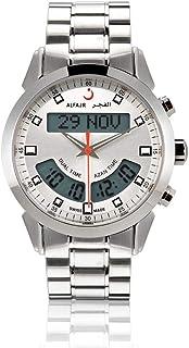 الفجر ساعة سويسرية رسمية رجال انالوج-رقمي ستانلس ستيل WA-10S