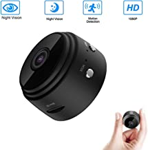 FLYHANA Mini Hidden Spy Camera Wireless HD 1080P Wireless Suveillance Camera Hidden Home WiFi Security Cameras Indoor Home Smallest Spy Nanny Cam Security Cameras with Motion Detection/Night Vision