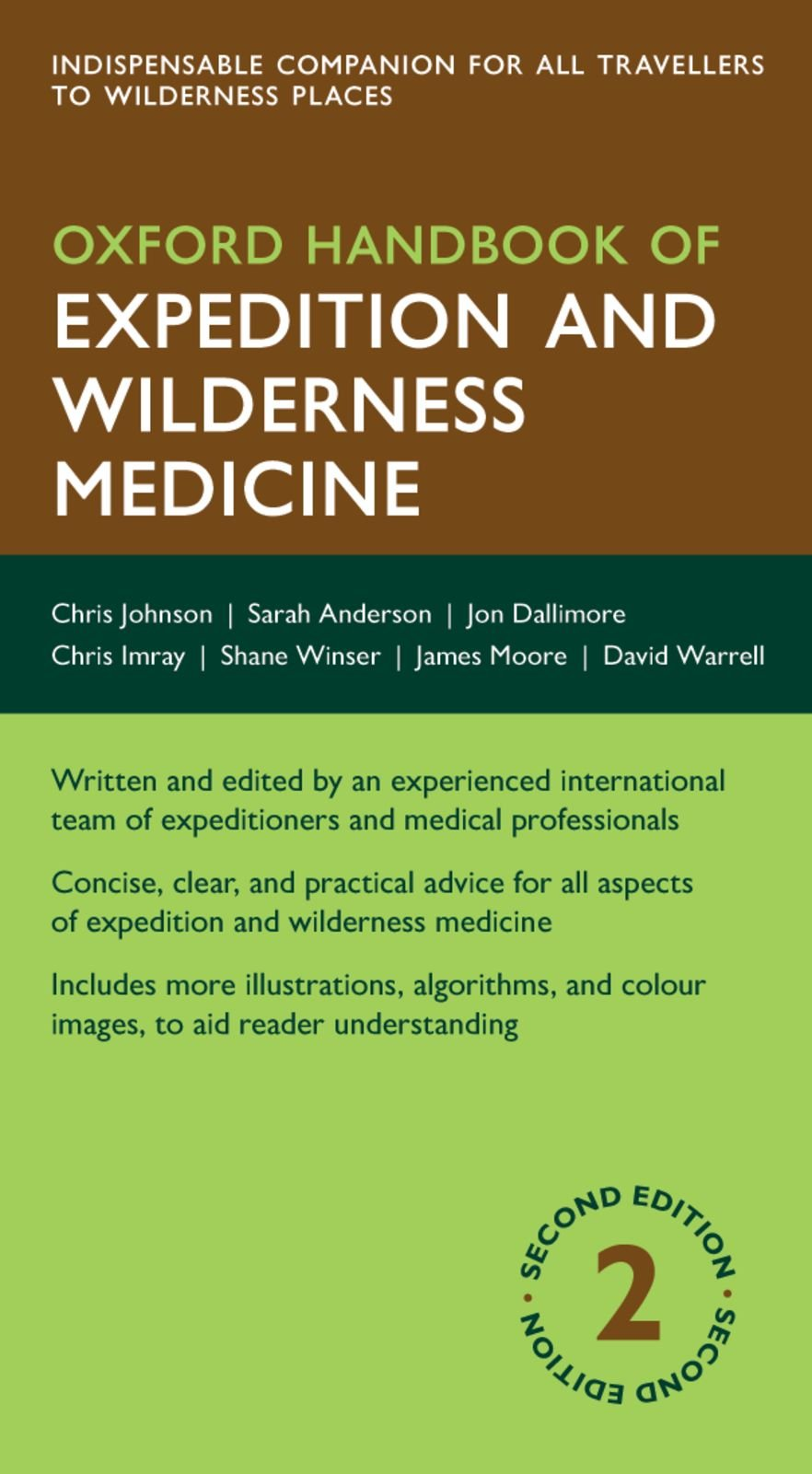 Image OfOxford Handbook Of Expedition And Wilderness Medicine