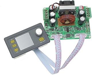YASE-king Buck Adjustable DC Constant Voltage Power Suppl Module Integrated Voltmeter Ammeter with Color Displa DPS3012 32V 12A Scientific Experiment Module