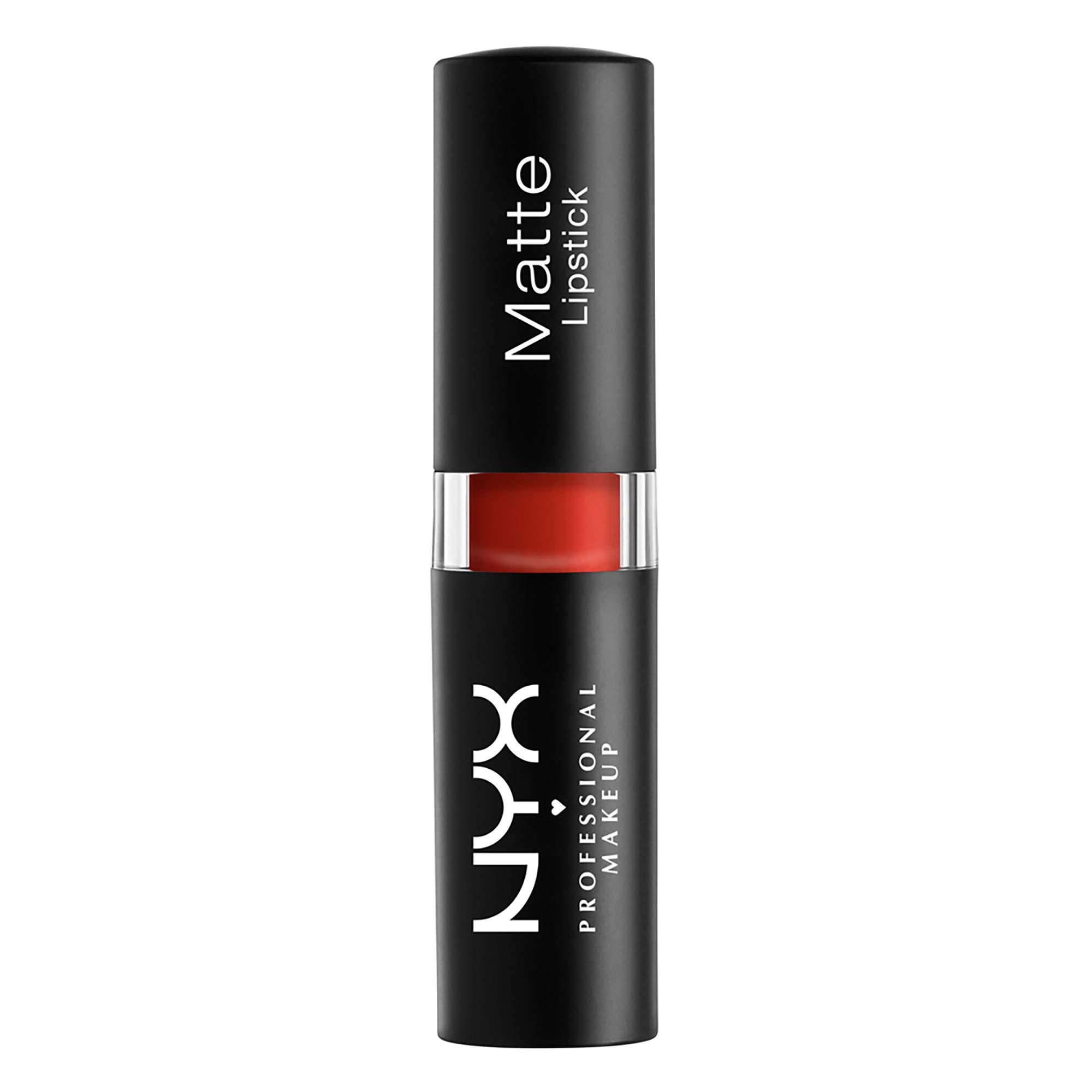 NYX PROFESSIONAL MAKEUP Matte Lipstick - Alabama (Brick Red)