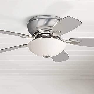 44 casa habitat brushed steel hugger ceiling fan