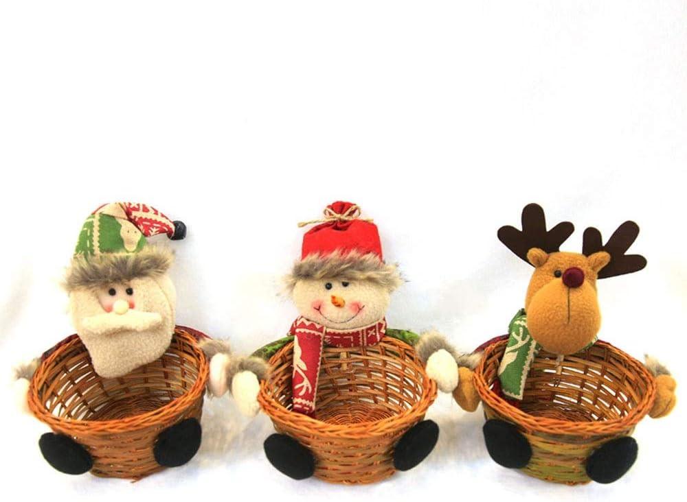 ZYLE Santa Candy Cheap super special price Basket Popular brand in the world Christmas Souvenir 2 Plush Decoration