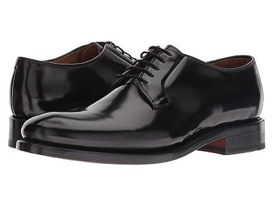 Bostonian Rhodes Plain (Black Leather) Men