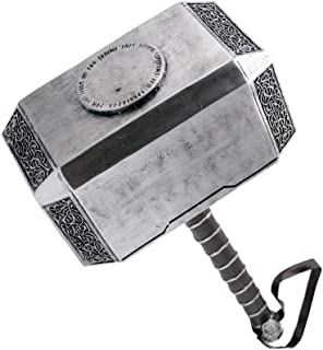 AMONT Martillo de Thor, tamaño real, producto decorativo,