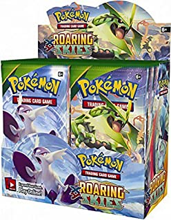 roaring skies booster box opening