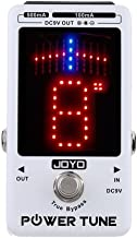 JOYO JF-18R Power Tune Tuner Pedal True Bypass with 8 Channel Low Noise Isolated DC 9V Power Output Multi Power Supply Effect