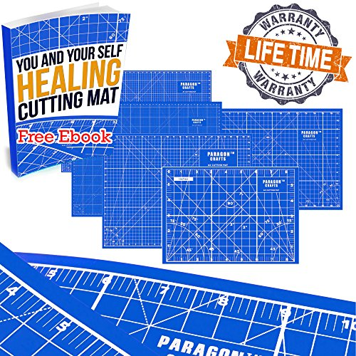Double Sided Self Healing Cutting Mat Board for Your Rotary Cutter, Sewing, Quilting & Kids'...