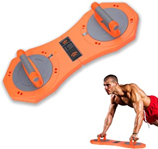 O-CONN 360° Rotatable Push Up Board - The Upgraded Push Up Bar Workout Equipment for Shoulder, Back, Chest, Foldable Home ...