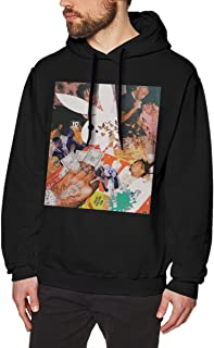 ATONE9 Men's Hoodie Sweatshirt Playboi Poke It Out-Carti Cotton Sweater Black S