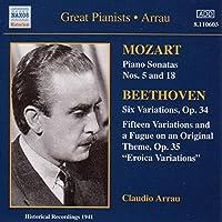 Mozart:Piano Sonatas/Beethoven