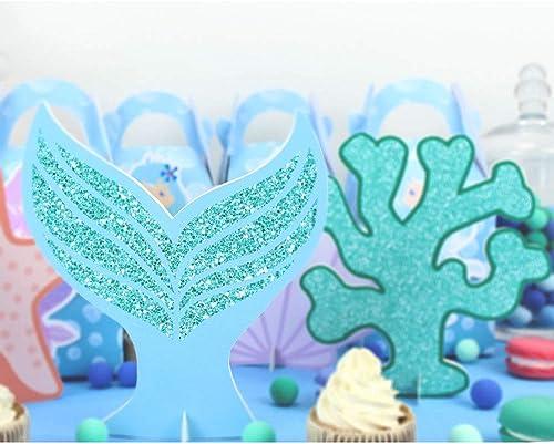 orden ahora disfrutar de gran descuento Uniqus - - - Centro de Mesa de Sirena para decoración de Fiesta de cumpleaños para Niños  genuina alta calidad