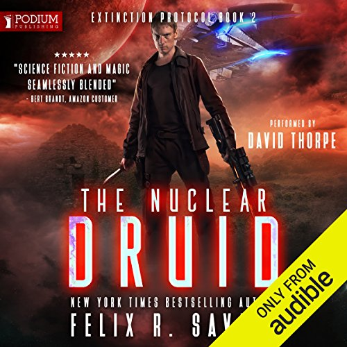 The Nuclear Druid audiobook cover art