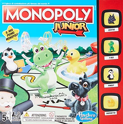 Monopoly - Junior (gioco in scatola, Hasbro Gaming)