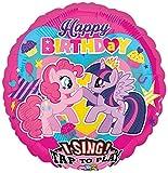Amscan–3165601My Little Pony–Jumbo sing-a-tune decoración Set (XL) , color/modelo surtido