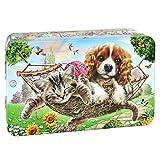 チャーチル Churchill's ガーデンパーティー 犬猫缶 ミニチョコチップクッキー