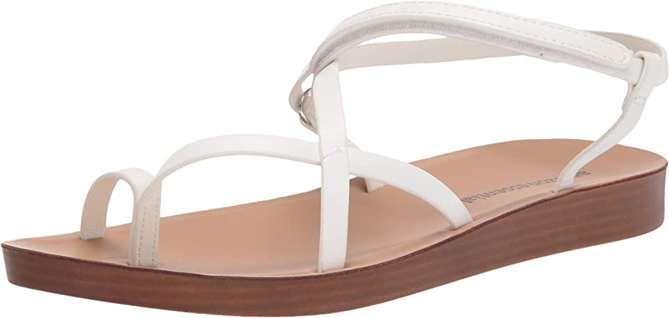 Amazon Essentials Women's Strappy Footbed Sandal