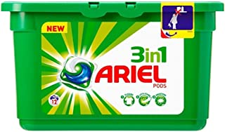 Ariel 3In1 Pods Washing Capsules 12 Washes