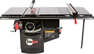 SawStop 3HP Industrial Cabinet Saw with 36-Inch Industrial T-glide Fence System