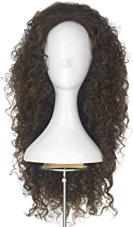 Miss U Hair Women Girl's Princess Long Afro Spiral Curly Wave Hair Decent Cos Costume Wig (Light Brown)
