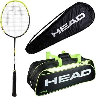 HEAD Head Airflow 9000 Badminton Racquet Set with Inferno 70 Green kitbag