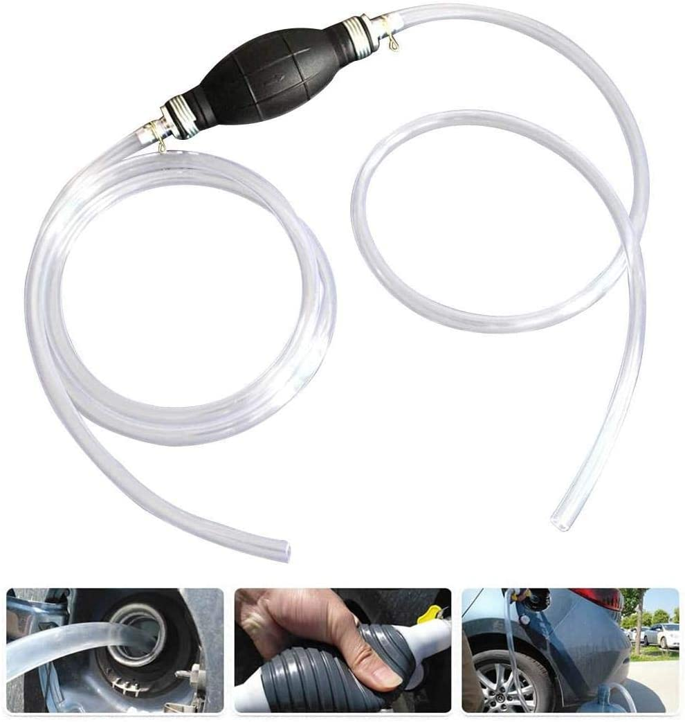 Manual NEW before selling Fuel Transfer Max 40% OFF Pump Gasoline Siphone Hose Water Oil