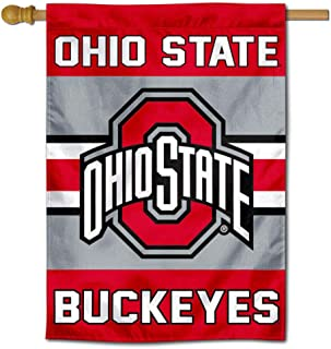 Ohio State Buckeyes Two Sided and Double Sided House Flag