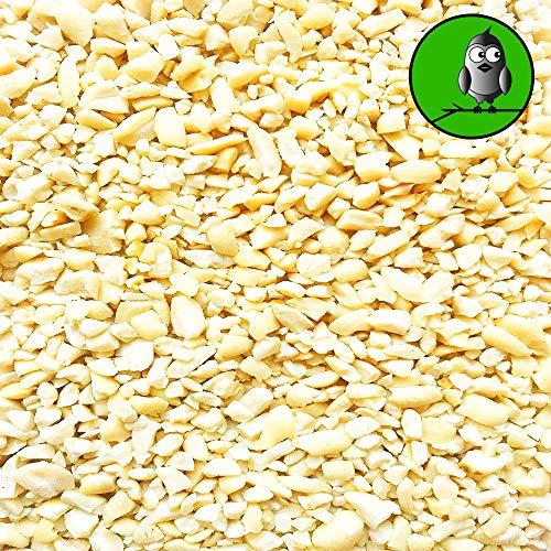 25 kg Erdnusskerne Weiss gehackt Erdnüsse Wildvogelfutter Winterfutter