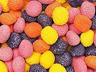 Nerds Covered Chewy & Bumpy Jelly Beans BULK - 2.4 Pound Bag - FRESH
