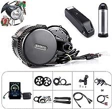 Bafang BBS01B 36V 250W / 350W Juego de conversión de Bicicleta eléctrica BBS02B 36V 500W Juego de conversión de Bicicleta eléctrica con batería y Cargador de Bicicleta eléctrica