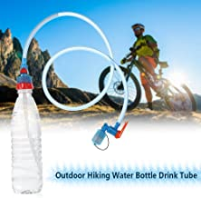 Explopur Botella de Agua Tubo de Bebida Manguera Hidratación Vejiga Depósito Paquete Sistema de Mochila Kit de Manguera
