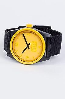neff 男式模拟石英运动手表塑料表带,多色,23(型号:NF0201-1