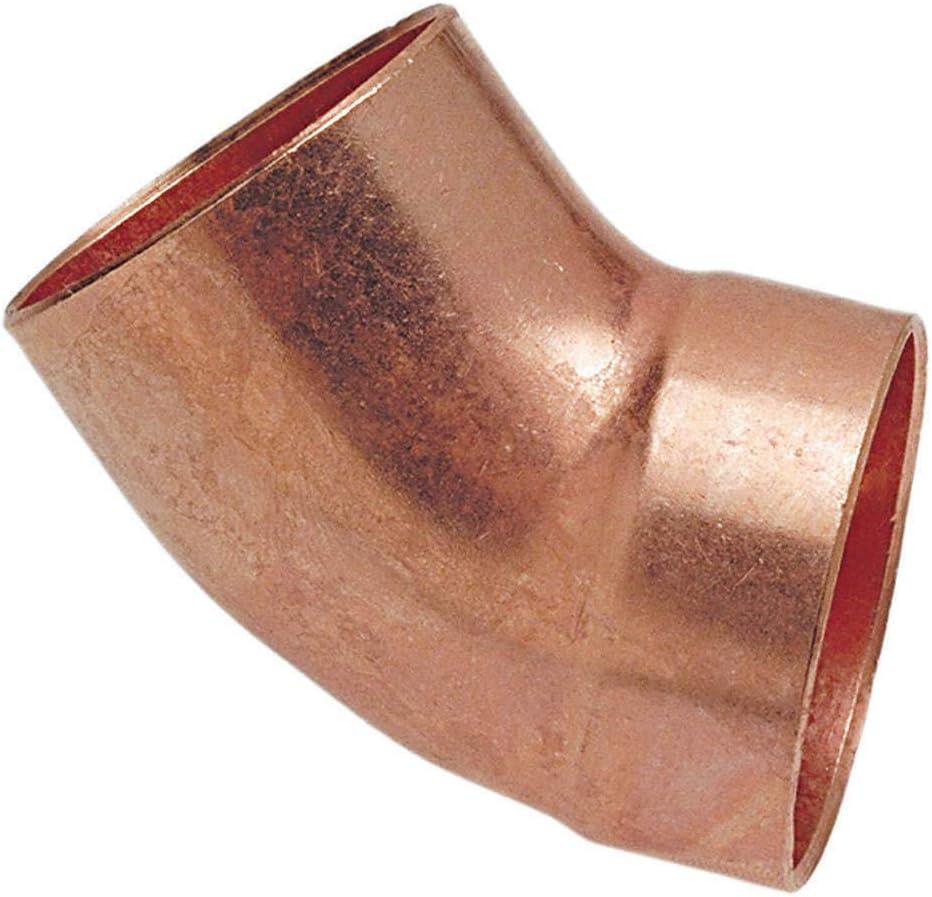 9062 Dealing full price reduction 11 4 Trust Elbow 45 Copper Deg 1-1 4