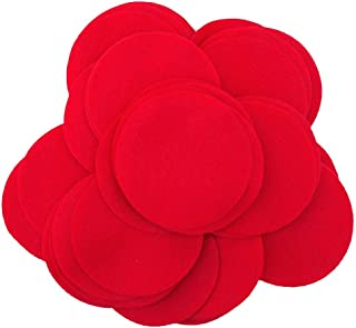 Playfully Ever After 4 Inch Red 19pc Felt Circles