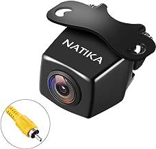 NATIKA 720P Backup/Front View Camera, IP69K Waterproof Starlight Night Vision Full HD and 210 Degrees Wide View Angle Reve...