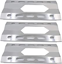 Hisencn Grill Replacement Parts for Kirkland 720-0108, 720-0011, Nexgrill 720-0047-U, 720-0008T and More, 3-Pack 17 5/16 inch Stainless Steel Heat Shield Plate Tent Burner Cover Flame Tamer