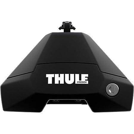 Thule 710500 Piedi per Barre Portatutto, Nero, Set di 4