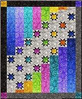 Bound To Be キルティングキルトパターン - オーロラナイト(56インチ x 68インチ)