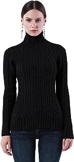 Best black turtleneck knit jumper Reviews